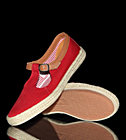 Pointer W Shoes Corey red crimson espadrille