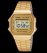Casio Watch A168WG gold/gold