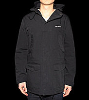 Carhartt Jacket Battle Parka black/white snow