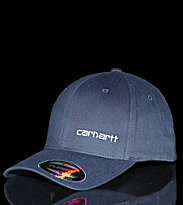 Carhartt Flexfit Cap Trucker blue federal/white