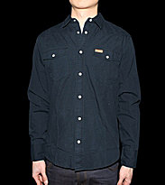 Carhartt Shirt Quite black stone washed