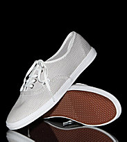 Vans Shoes Authentic LO PRO grey/true white woven stripe