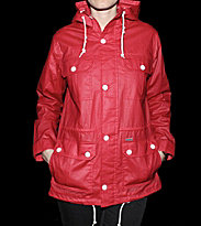 Carhartt W Jacket Canny red flame/white snow