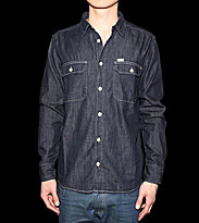 Carhartt Shirt Wing blue rinsed