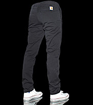 Carhartt Sid Pant Wichita black craft washed
