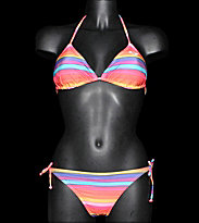 Roxy W Bikini Multico Stripes multicolors stripes