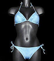 Roxy W Bikini Denim Photoprint blue denim photoprint