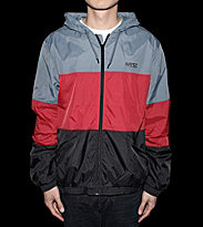 Wesc Windbreaker Magnus blue graphite/red/black