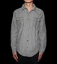 Insight Shirt Bayou-Born grey vintage