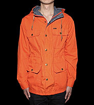 Obey Jacket Skyline orange