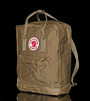 Fjallraven Backpack Kanken brown sand