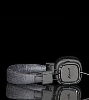 Marshall Headphones Major black pitch black