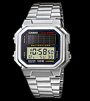 Casio Watch AL-190WD silver/black