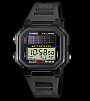 Casio Watch AL-190W black/black
