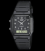 Casio Watch AW-48H black/black