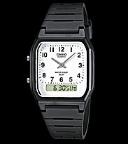 Casio Watch AW-48H black/white