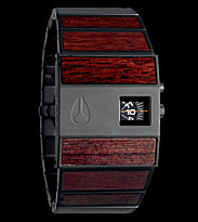 Nixon Watch The Rotolog brown dark wood black