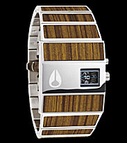 Nixon Watch The Rotolog brown teak