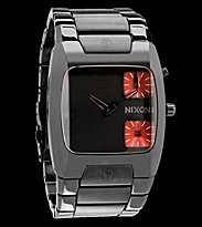 Nixon Watch The Banks grey gunmetal