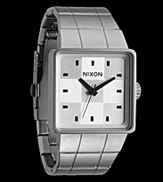 Nixon Watch The Quatro grey sanded steel/white