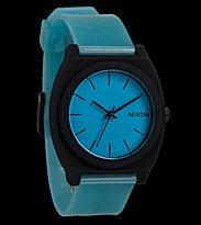Nixon Watch The Time Teller P blue glo