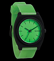 Nixon Watch The Time Teller P green glo