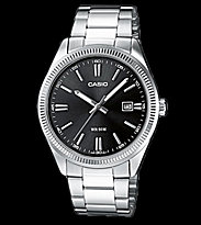Casio Watch MTP-1302D silver/black