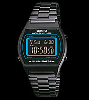 Casio Watch B640WB black/blue