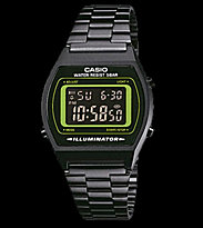 Casio Watch B640WB black/green