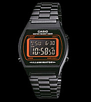 Casio Watch B640WB black/orange
