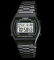 Casio Watch B640WB-1A black/black