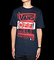 Vans T-Shirt Stenciled blue navy