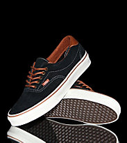 Vans Shoes Era 59 black leather brown