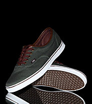 Vans Shoes LPE green deep fore