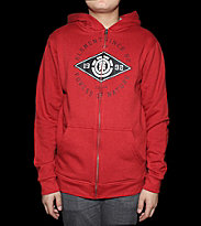 Element Kids Zip Hooded Major League red chilli