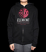 Element Kids Zip Hooded Conley black