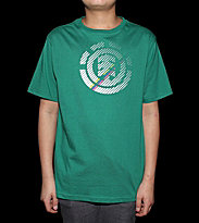 Element Kids T-Shirt Faded green flash