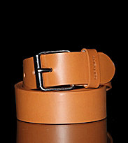 Carhartt Belt Script brown buckskin/silver buckle