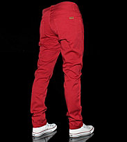 Carhartt Riot Pant Wichita red deep light mill washed
