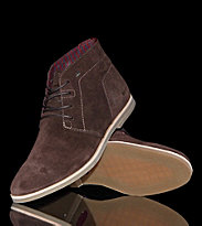 Boxfresh Shoes Chuk Suede brown dark brown
