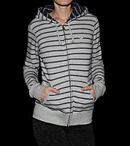 Roxy W Zip Hooded Autumn grey