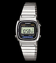 Casio Watch LA670WEA silver/black