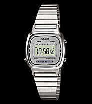 Casio Watch LA670WEA silver/silver