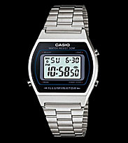 Casio Watch B640WD-1A silver/black