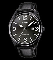Casio Watch MTP-1342L black/black