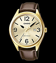 Casio Watch MTP-1342L black/gold