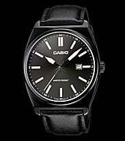 Casio Watch MTP-1343L black/black