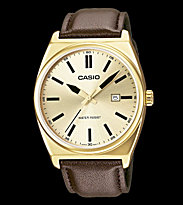 Casio Watch MTP-1343L black/gold