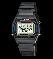 Casio Watch W-202 black/black