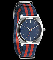 Nixon Watch The Time Teller blue navy/red